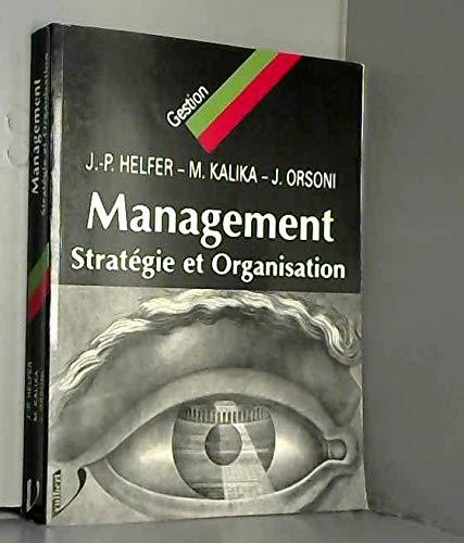 9782711776740: Management stratégie et organisation