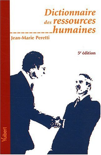 9782711778362: Dictionnaire des ressources humaines