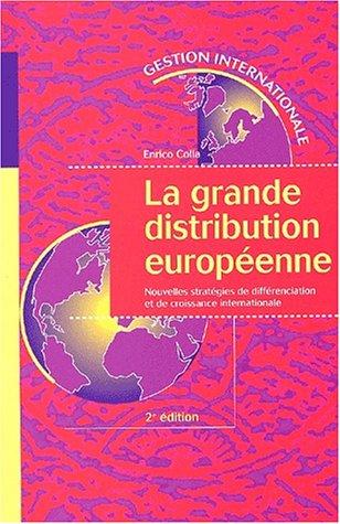 La Grande distribution europeenne deuxià me à dition (French Edition): Vuibert