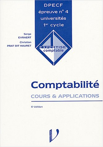 9782711778997: Comptabilité DPECF n° 4 : Cours & applications