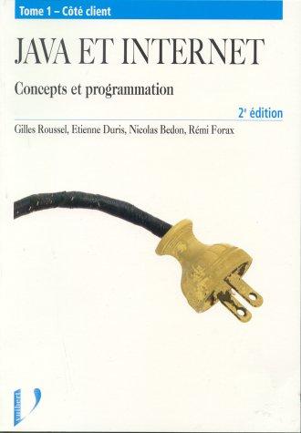 9782711786893: Java et internet - Concepts et programmation