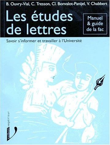 9782711789283: Les Etudes de lettres