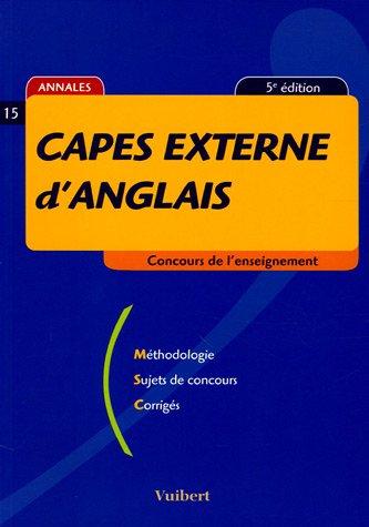 9782711794515: CAPES externe d'anglais