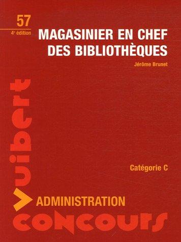 9782711794935: Magasinier en chef des biblioth�ques