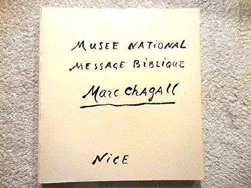 Le message biblique: Nice Musée National
