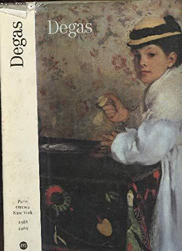 Degas: Galeries nationales du Grand Palais, Paris 9 fevrier-16 mai 1988 : Musee des beaux-arts du ...