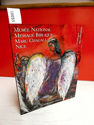 9782711823635: Mus�e nationale message biblique, Marc Chagall