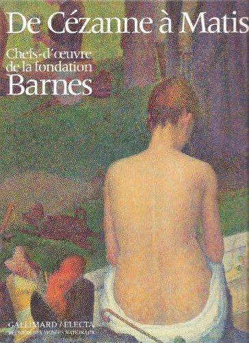 9782711829279: De Cézanne à Matisse