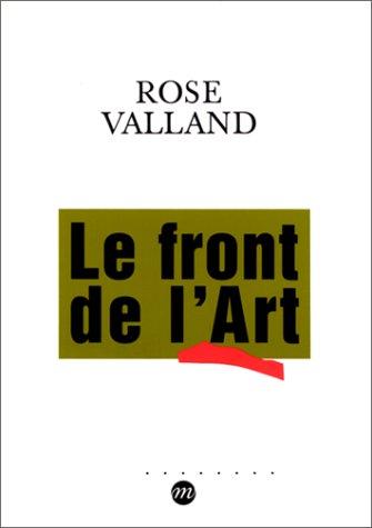 9782711835904: Le front de l'art: Défense des collections françaises, 1939-1945 (French Edition)