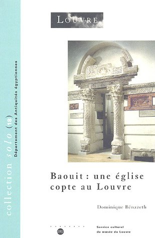 9782711844500: Baouit. une eglise copte au louvre