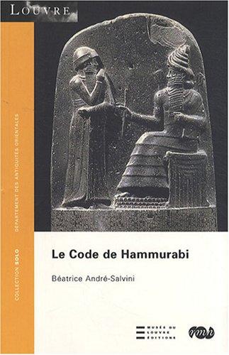 9782711855544: le code d'hammourabi