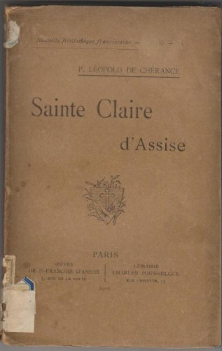 9782712201142: Sainte Claire d'Assise