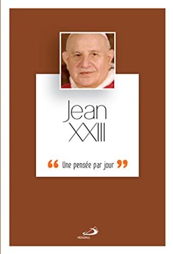 9782712204549: Jean xxiii, une pensee par jour