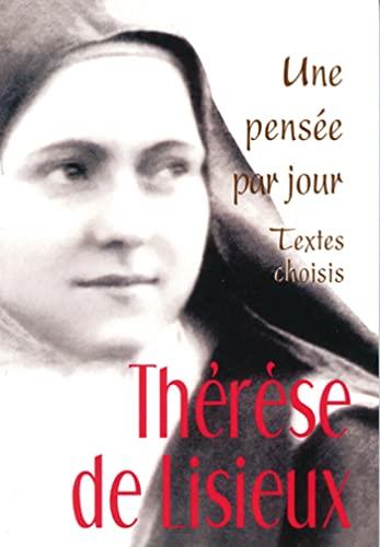 9782712210588: Thérèse de Lisieux : Une pensée par jour