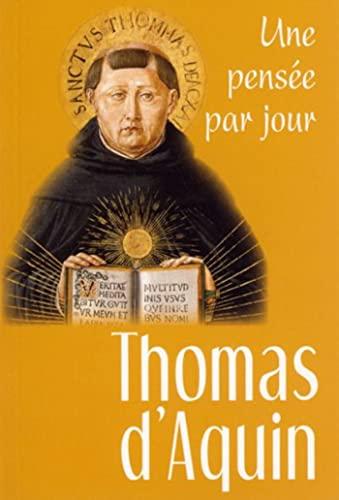 9782712212438: Thomas d'Aquin Une pensée par jour