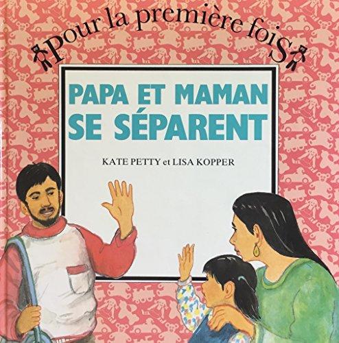 9782713009327: Papa et maman se s�parent