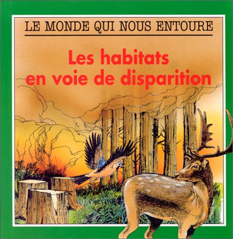 9782713013980: Habitats en voie de disparition