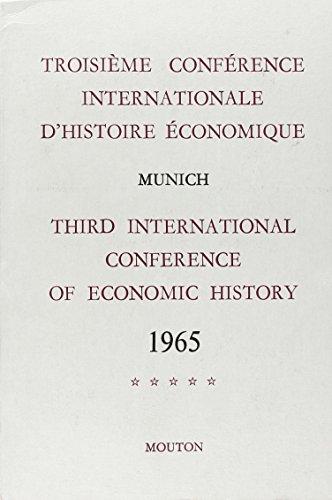 Troisième conférence internationale d'histoire é...