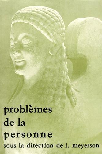 Problèmes de la personne. (French Edition)