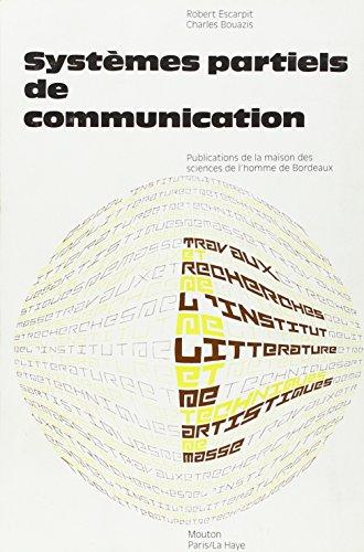 9782713208010: Syst�mes partiels de communication