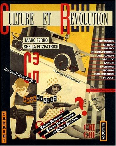 9782713209185: Culture et révolution