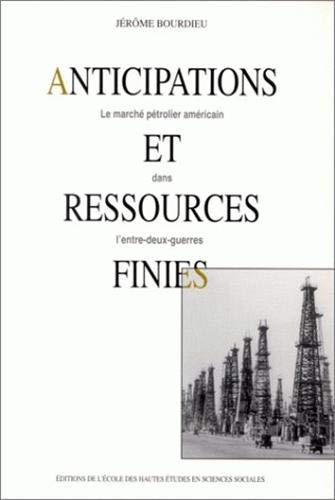 Anticipations et ressources finies: Le marche petrolier americain dans l'entre-deux-guerres (...