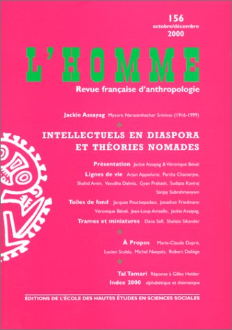 9782713213571: L'Homme. 156, Intellectuels en Diaspora et Th�ories Nomades