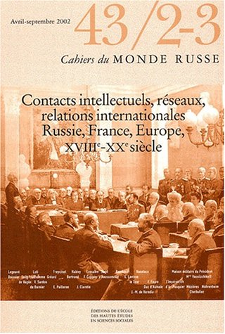 Cahiers du monde russe N° 43/2-3 Avril-Septembre 2002 (French Edition): EHESS