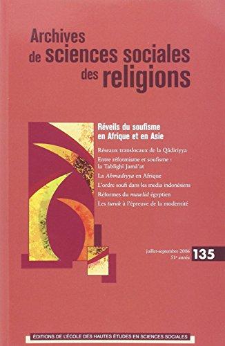 réveils du soufisme en Afrique et en asie