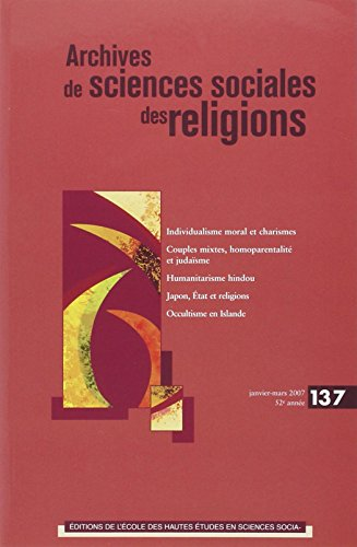 Archives de sciences sociales des religions, N° 137, janvier-mars (French Edition): ...