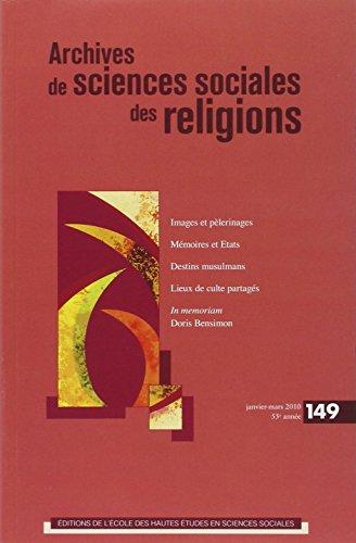 Archives de sciences sociales des religions, N° 149, Janvier-mars (French Edition): ...