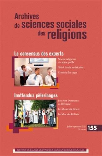 Archives de sciences sociales des religions, N° 155, Juillet-sept (French Edition): ...