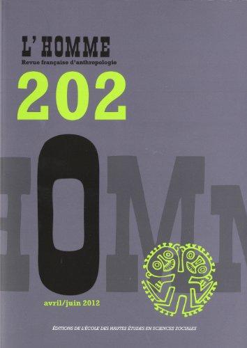 L'Homme, N° 202, Avril/juin 2 : Benvéniste, Emile; Gourou,