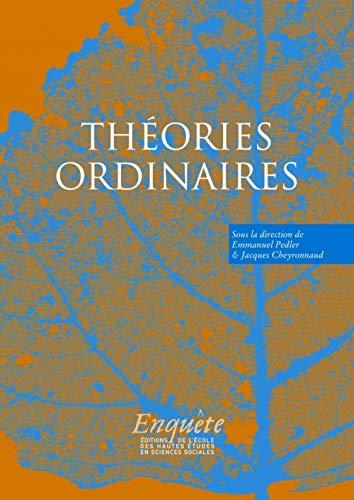 Théories ordinaires: Emmanuel Pedler