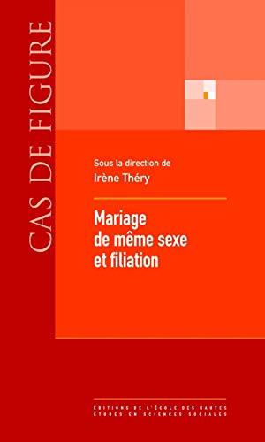 9782713224133: Mariage de même sexe et filiation