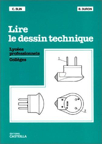 9782713506390: Lire le dessin technique
