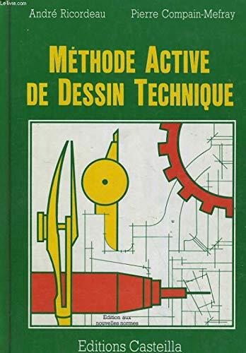 METHODE ACTIVE DE DESSIN technique: RICORDEAU, ANDRE