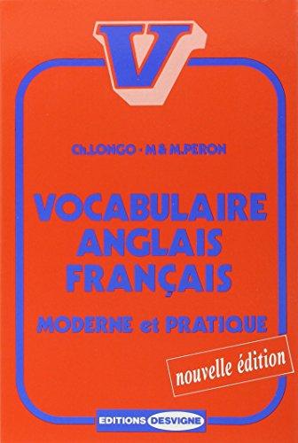 9782713513091: Vocabulaire anglais français, moderne et pratique