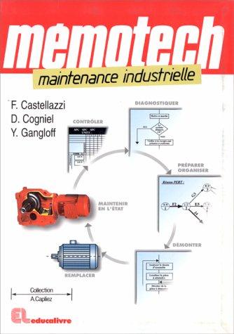 9782713519246: Mémotech. Maintenance industrielle