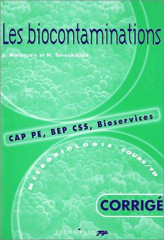 9782713523953: Microbiologie (CAP PE, BEP CSS, bioservices, cours et TD), tome 2 : Les Biocontaminations, corrig�