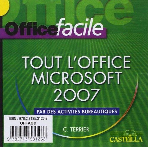 9782713531262: office facile microsoft bureau 2007 cd