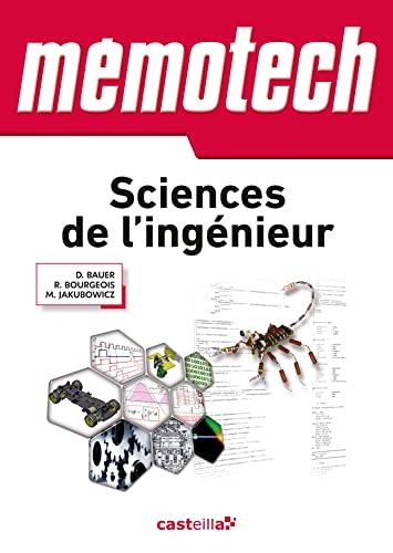 9782713533020: memotech sciences de l'ingenieur 1ere terminale s
