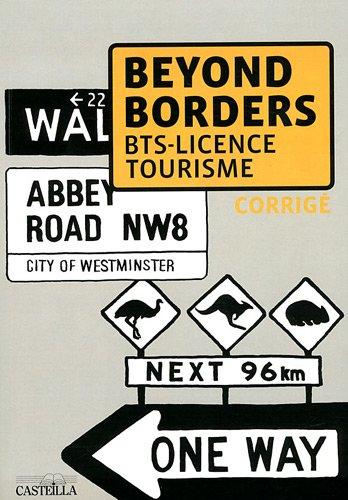 9782713533389: Beyond borders - BTS AGTL VPT licence pro corrigé