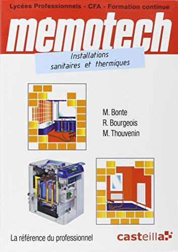 9782713533693: memotech instal sanitaires thermiques