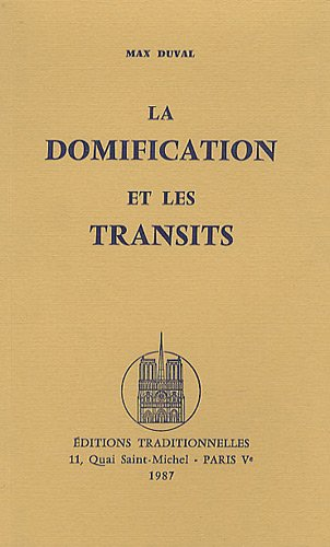 9782713800436: Domification et les Transits (La)