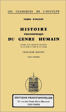 9782713800887: Histoire philosophique du genre humain , tome 1 et 2