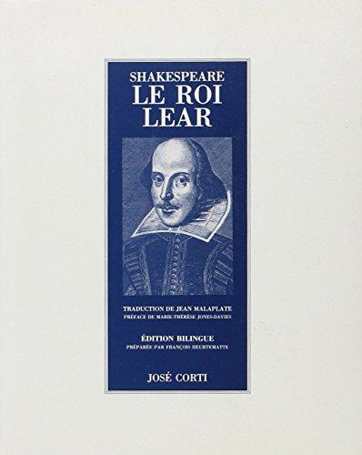 9782714304322: Le roi Lear (Jose Corti)
