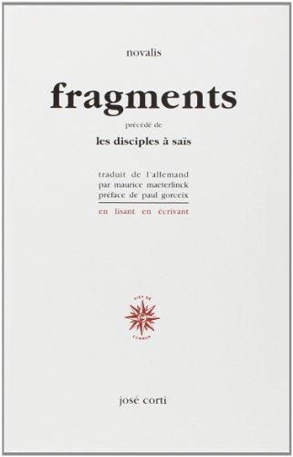 9782714304636: Fragments, précédé de