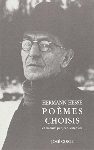POÈMES CHOISIS: HESSE HERMANN