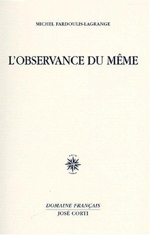 L'inachèvement - Michel Fardoulis-Lagrange